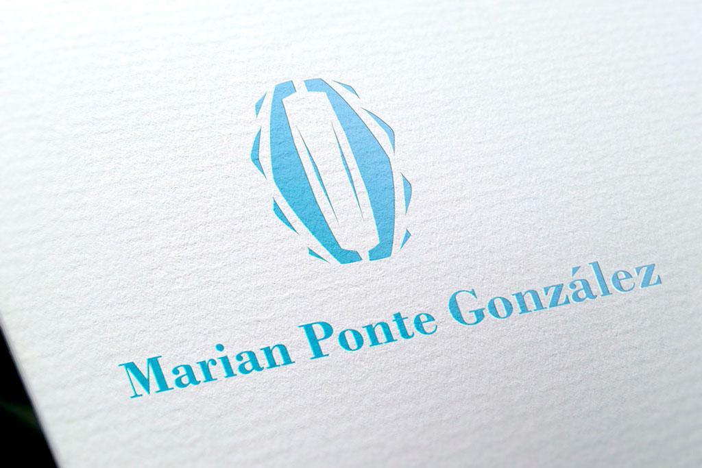 marian ponte logotipo