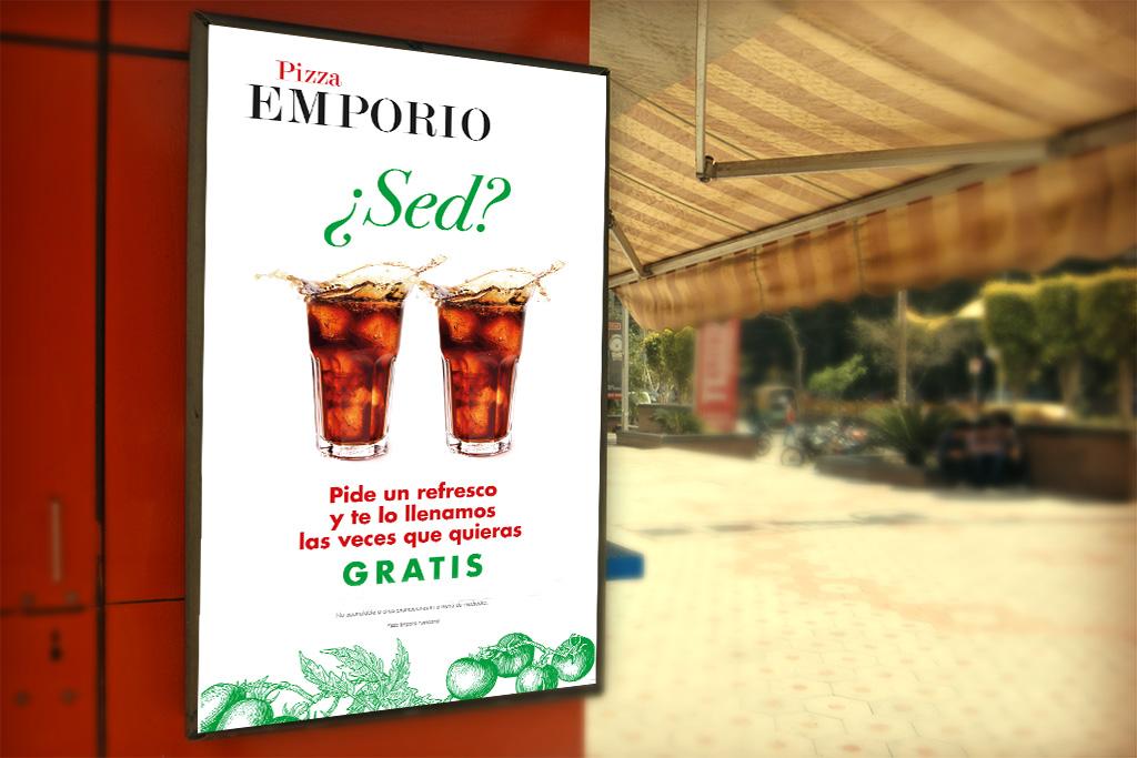 Pizza Emporio promocion