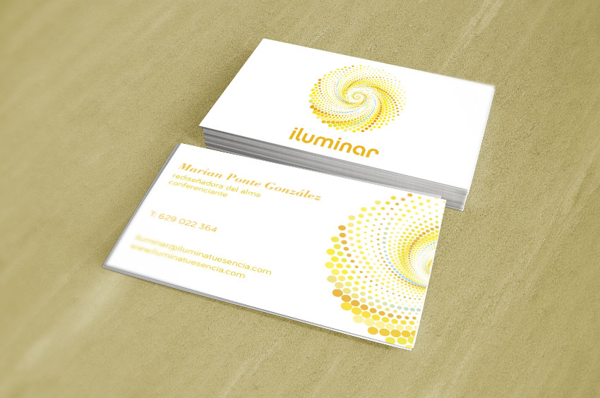 graphe-disseny-tarjetas-visita-iluminar