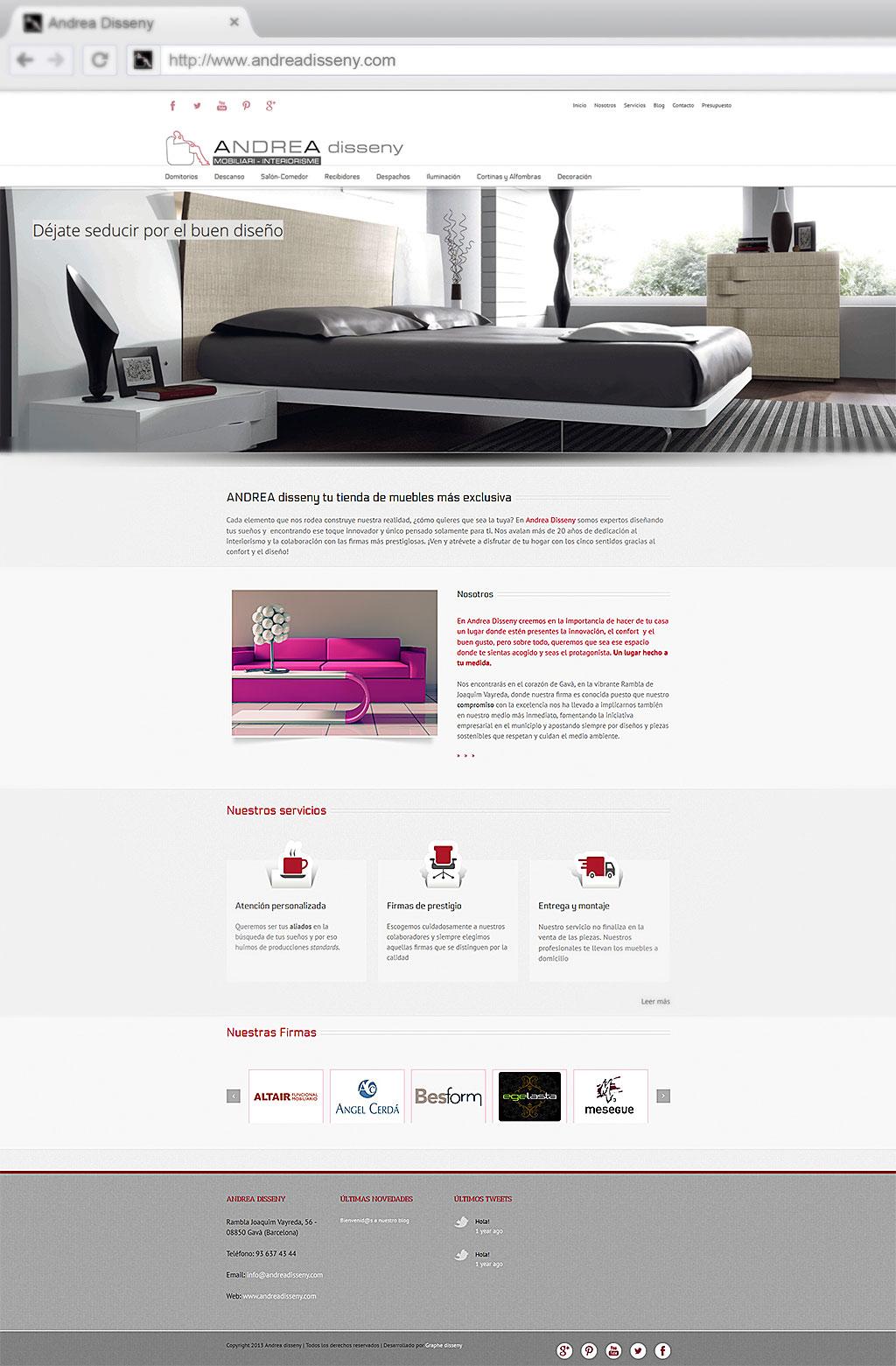 andrea disseny web